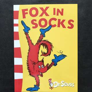 💥NEW - Dr Seuss - Fox in Socks- Story book