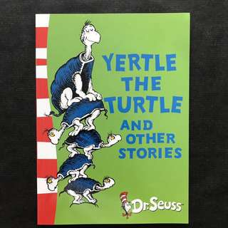 💥NEW - Dr Seuss - Yertle the Turtle and Other Stories - Story book