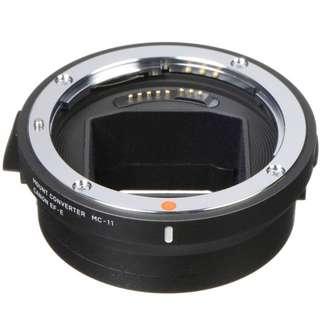 Sigma MC-11 Mount Converter/Lens Adapter(Sigma EF-Mount Lenses to Sony E)