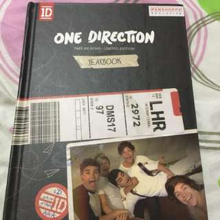 ONE DIRECTION TAKE ME HOME LIMITED EDITION YEARBOOK ALBUM