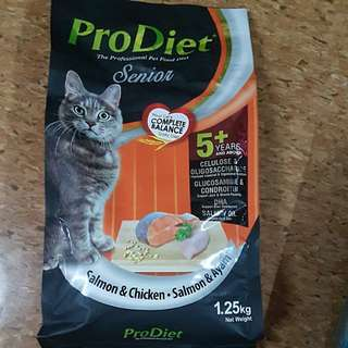 Prodiet cat kibbles senior