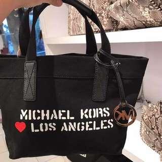 MK洛杉磯限定帆布包
