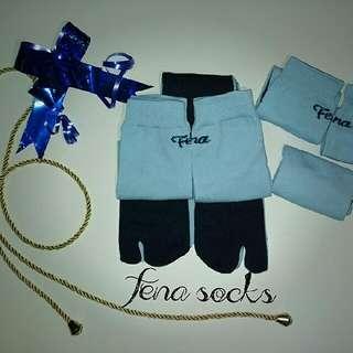 Blue In Fena Socks