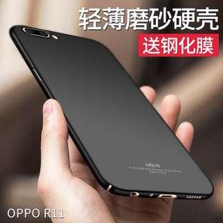 原裝OPPO r11手機外殼套保護殼磨砂