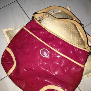 Authentic Coach Fuschia Pink Bag