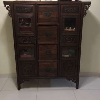 Antique wooded cabinet