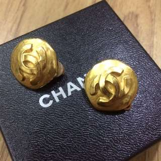 Authentic Chanel vintage earring