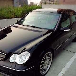 賓士2001年w203 c320