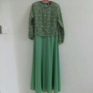 ILOVELY Lace Jubah Dress Tall - Free Postage