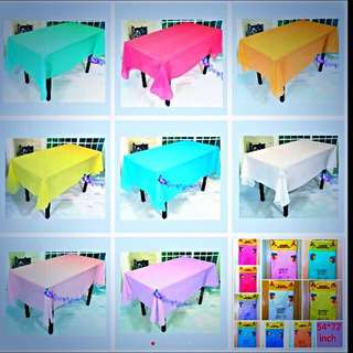 🎀Party Supplies - Disposable Tablecloth Table Cloth Table Cover