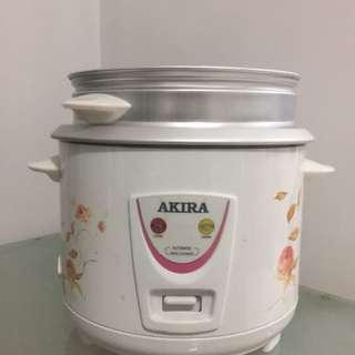 Akira Rice Cooker/Steamer