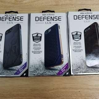 X-Doria Case iPhone 7 Plus Note 8 S8+ Deffense Lux Shield