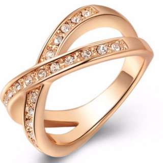 Criss Cross Setting X Ring