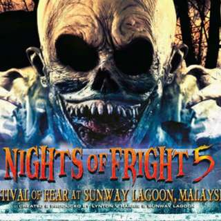 Sunway Lagoon Night Of Fright 2017