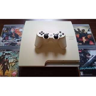 """Selling a """"SPOIL"""" PS3 @$100 with free 4 games"""