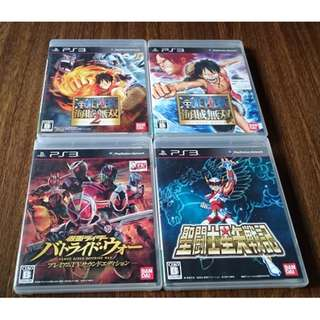 PS 3 games @$15 each