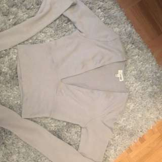 Aritzia Wilfred Free Crop Top