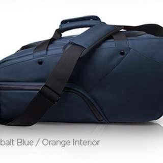 Keep Pursuing Duffle Bag Cobalt Blue