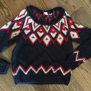 HM fall sweater