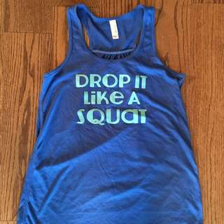 Drop it like a squat tank