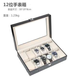 12位鱷魚紋手錶盒  12 Grids Watch Box (Crocodile Pattern)