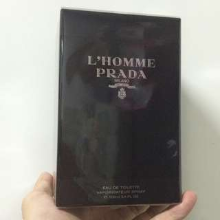 PRADA L'Homme EDT Perfume for Men (100ML)