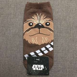 Star Wars Brown Chewbacca Ankle Socks