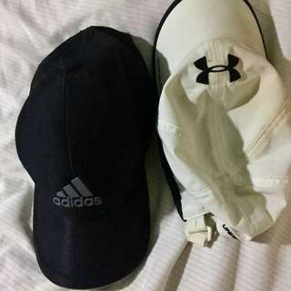 ‼️RUSH SALE!! Authentic Adidas and underarmour cap