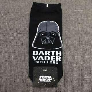 Star Wars Black Darth Vader (Big) Ankle Socks