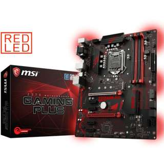 MSI Z370 Gaming Plus Skt1151 ATX Motherboard (For Intel Coffee Lake)