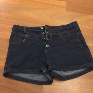 (Inc Pos) Denim Shorts
