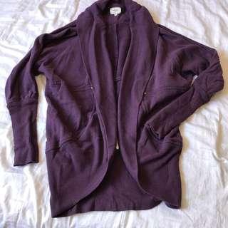 Wilfred small purple sweater