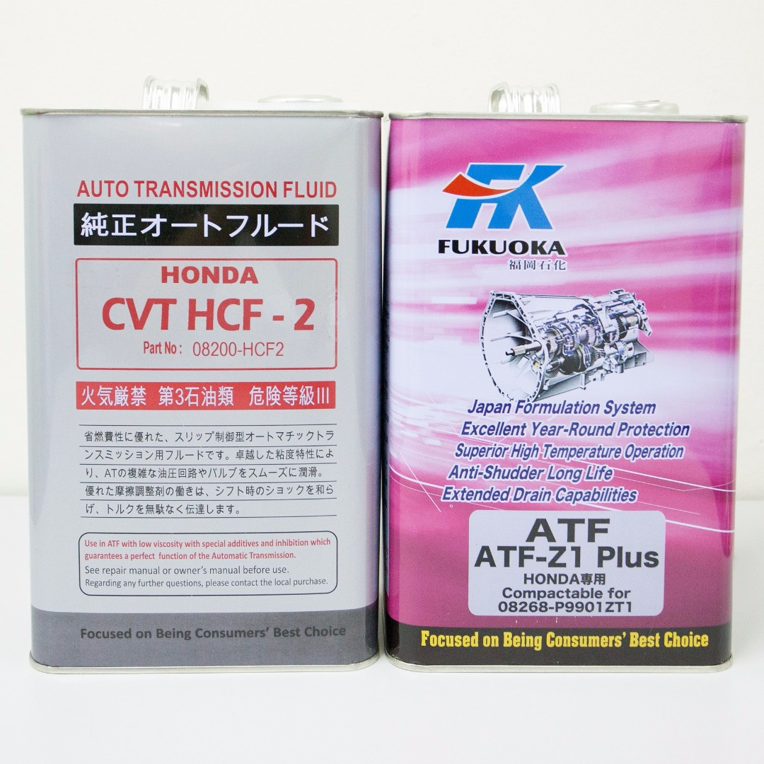 HONDA ATF Z1-Plus, CVTF HCF-2, Car Accessories on Carousell