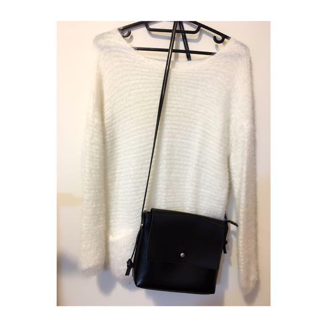✨冬季白色毛衣✨