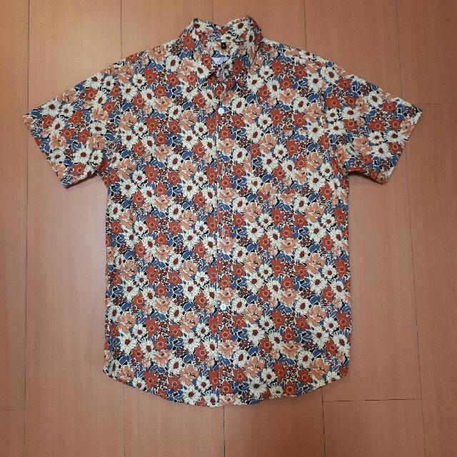 夏日花襯衫