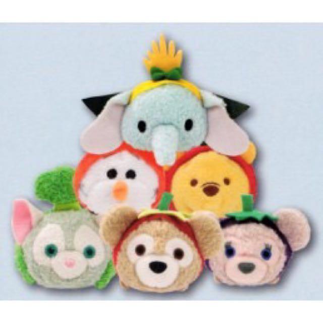 【分售】 香港迪士尼 2017嘉年華 蔬果造型 Tsum Tsum