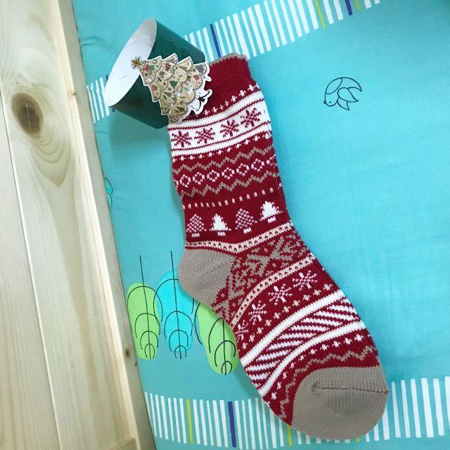 全新 | 聖誕風 長襪 韓國製