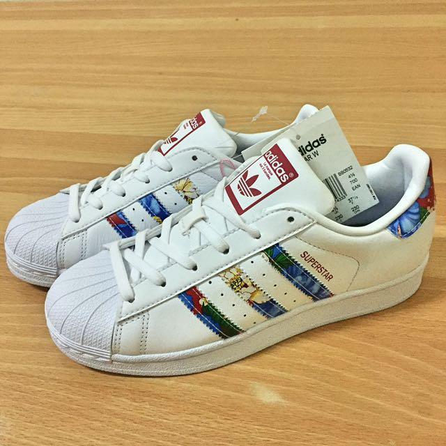 🌸新款 Adidas花花金標鞋