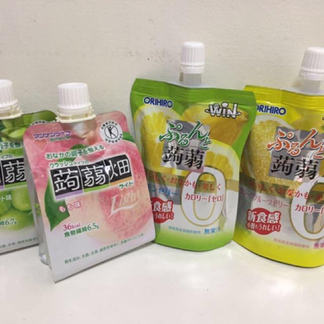 日本低卡零熱量蒟蒻 ORIHIRO 蒟蒻畑