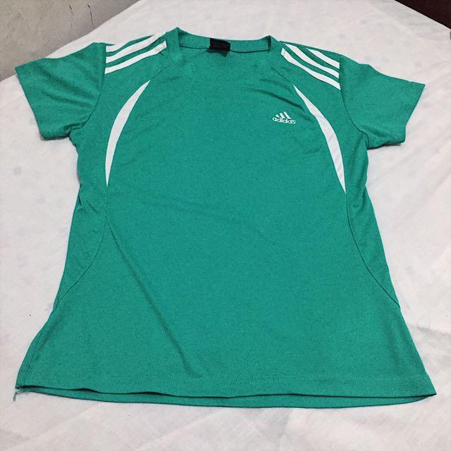 Adidas green active wear