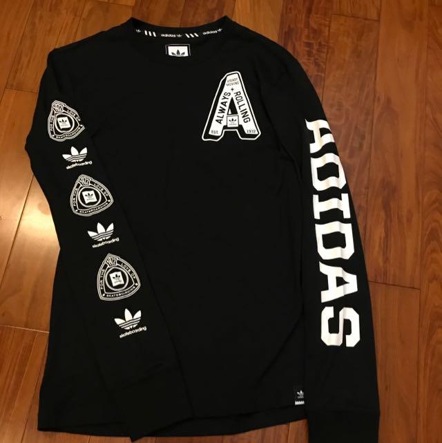 Adidas originals 男版薄長袖
