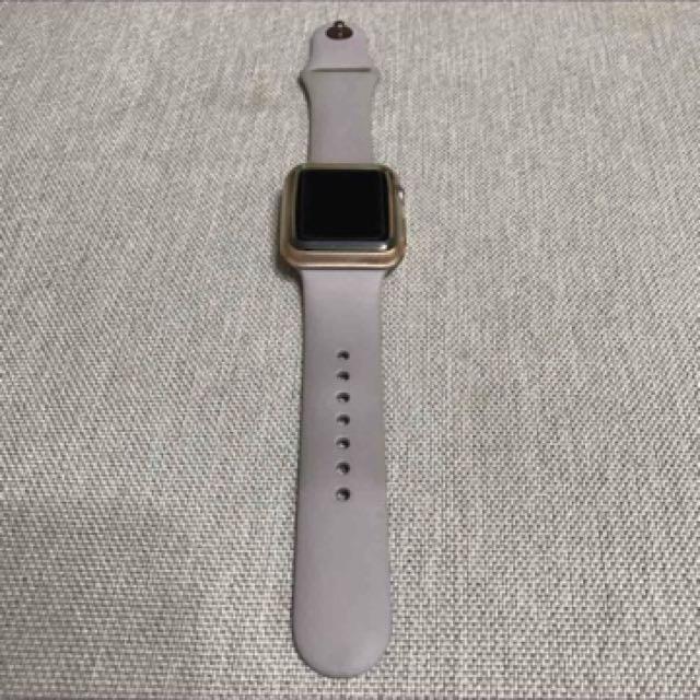 apple watch series1 玫瑰金 原廠配件