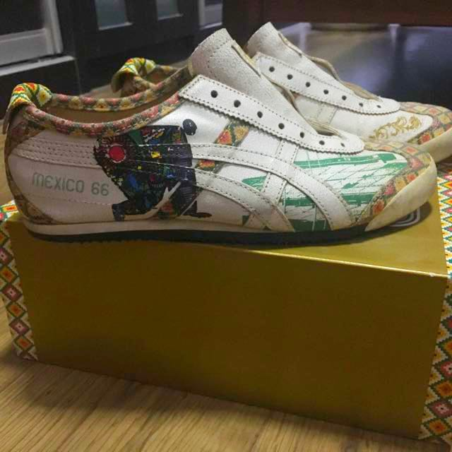 on sale 10a20 ecef5 Asic Onitsuka Tiger 1966 V40 Mexico Limited Edition Leather ...
