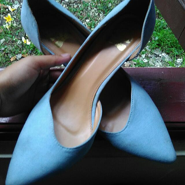 Asymmetric Heels The Little Things She Needs (Baby Blue)