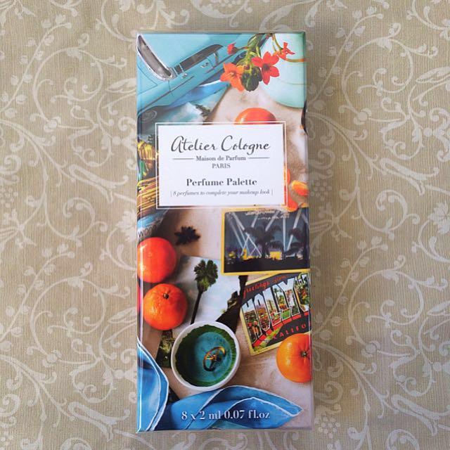 Atelier Cologne Perfume Palette 8 x 2 mL NEW