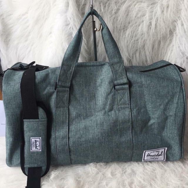 Authentic herschel duffel bags!