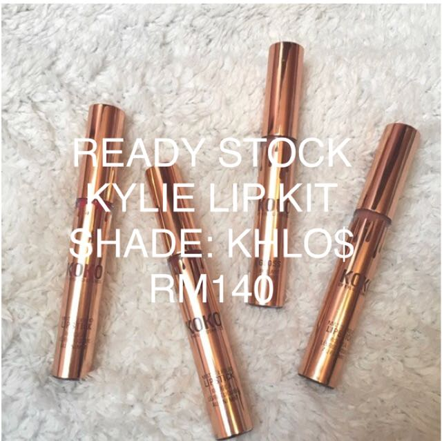 AUTHENTIC READY STOCK KYLIE LIP KIT