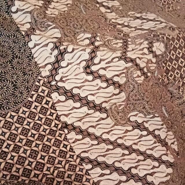 Bahan Batik Motif Parang Klasik Sutra