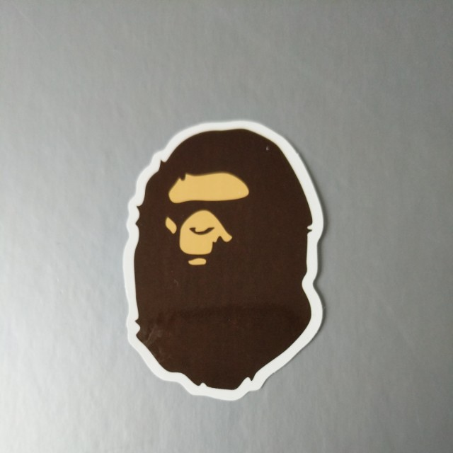Bape, CDG & Mcdonalds Stickers