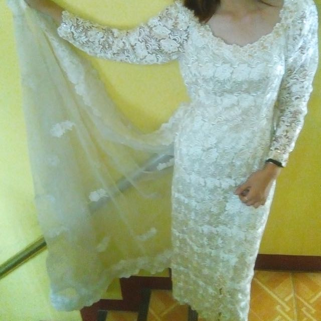Beaded Prada Wedding Gown for  Sale or Rent
